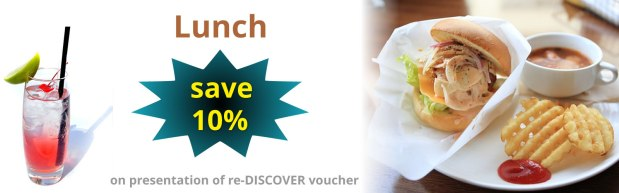 Re-Discover Lunch Offer